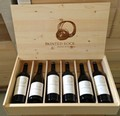 Branded Wooden Six Bottle Box